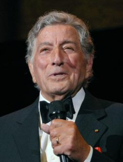 Anthony Benedetto (aka Tony Bennett), performing at the Sons of Italy gala in Washington last month. Still hitting the high Fs at 81 years old. Amazing.