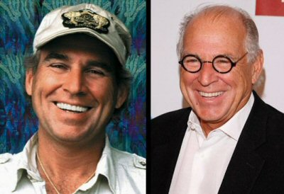 Jimmy Buffett, looking awesome then and now, rocking the Harry Potter specs.