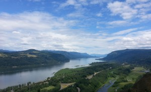 The Columbia River, from Vista House
